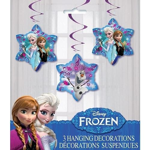 Disney Frozen 3 Hanging Decorations