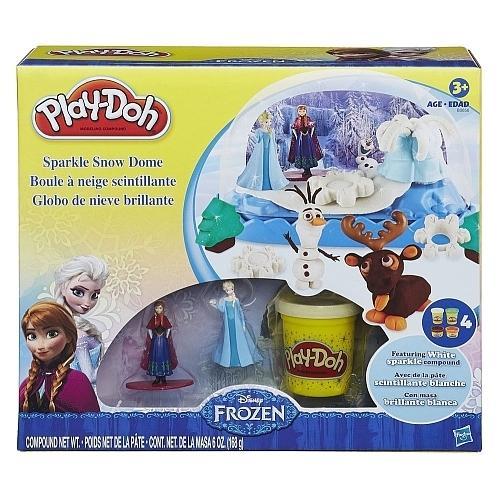 Disney Frozen Play-Doh Sparkle Snow Dome