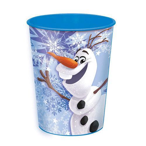 Disney Frozen Olaf Plastic Cup [16 OZ]