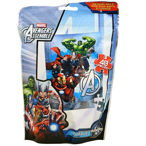 Marvel Avengers Assemble [48 Pieces - Resealable Bag]