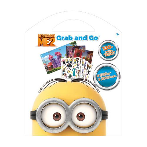 Despicable Me - The Minions - Grab and Go Sticker Kit