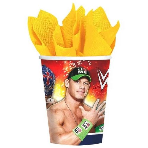 WWE 9oz Party Cups [8 per Pack]