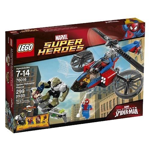 LEGO Super Heroes Spider-Helicopter Rescue [76016 - 299 pcs]