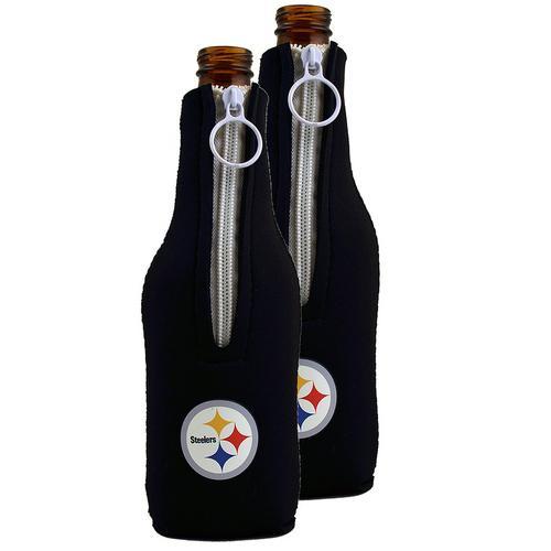 NFL Pittsburgh Steelers Neoprene Bottle Sleeve [Set of 2]