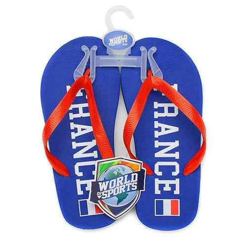 World of Sports Flip-Flops - France - Medium