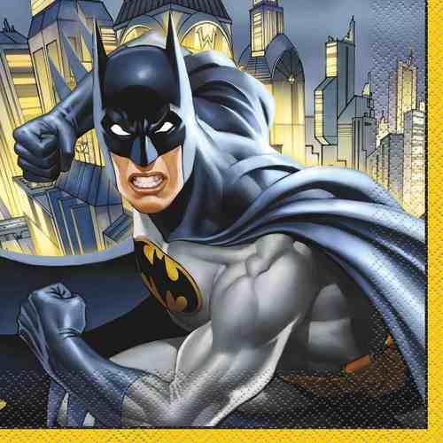 Batman Luncheon Napkins [16 Per Pack]