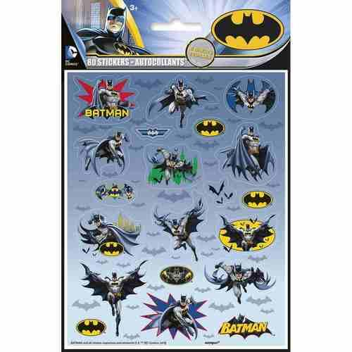 Batman Party Stickers [4 Sheets]
