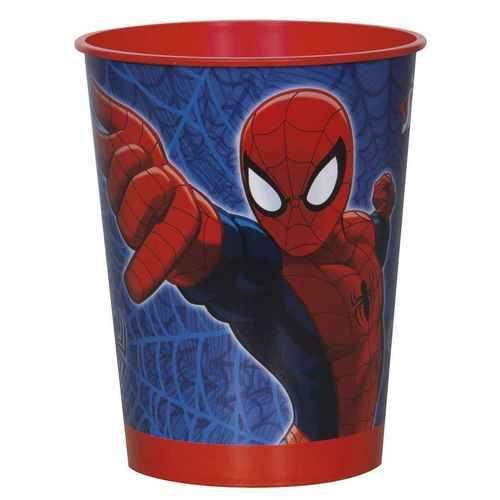 Spider-Man 16 oz Plastic Cup