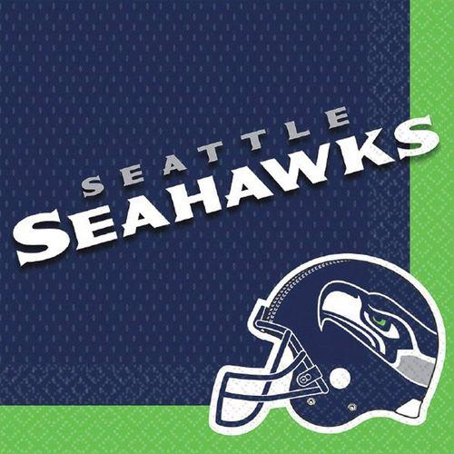 NFL Seattle Seahawks Luncheon Napkins [16 pack]
