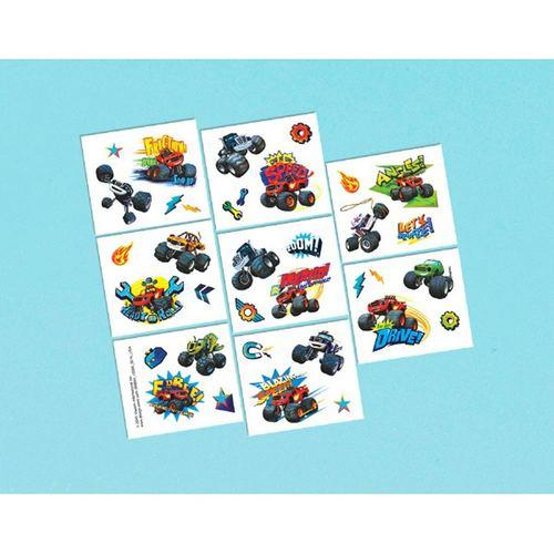 Blaze and the Monster Machines Tattoo Favors [16 in package]