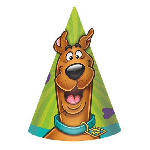 Scooby-Doo Paper Cone Hats [8 Per Pack]