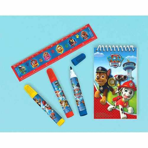 Paw Patrol Stationery Set - Packaged Favors