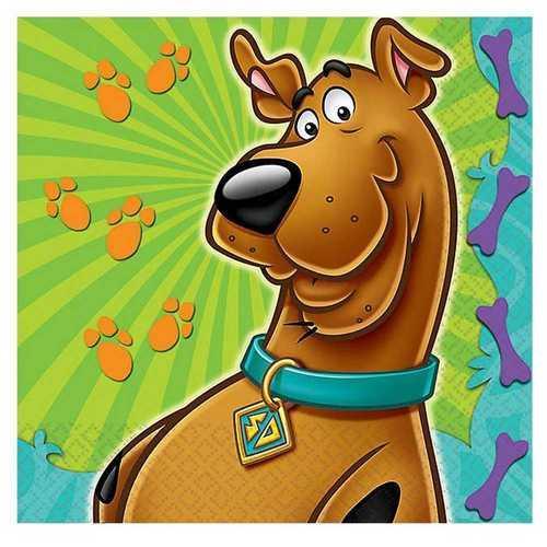 Scooby-Doo Beverage Napkins [16 Per Package]
