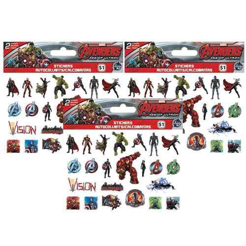 The Avengers Age of Ultron Stickers - 3 Packages