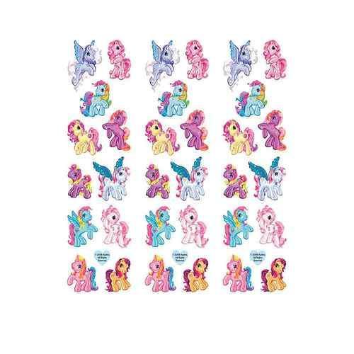 My Little Pony Slim Sticker Set [3 Packs of 1 Sheets Ea]