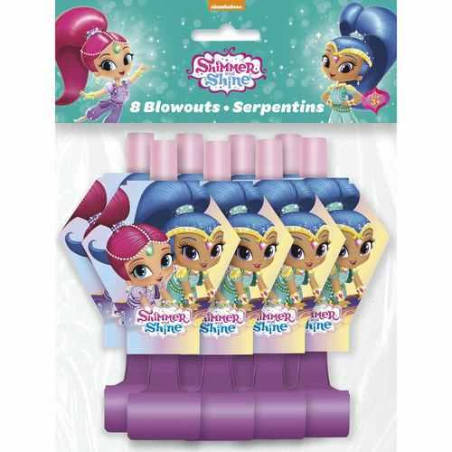 Shimmer and Shine Blowouts [8 per Pack]