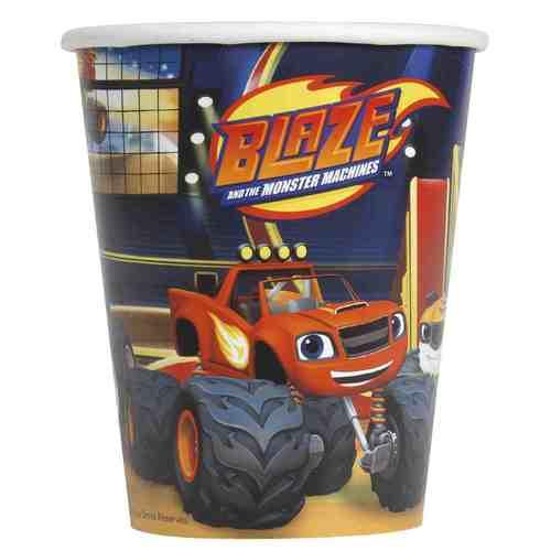 Blaze and the Monster Machines 9oz Party Cups [8 per Pack]