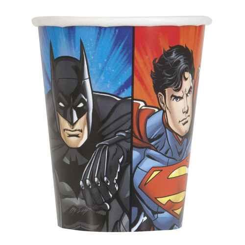 Justice League 9oz Party Cups [8 per Pack]