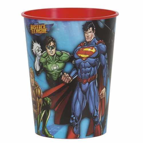 Justice League 16oz Plastic Party Cup
