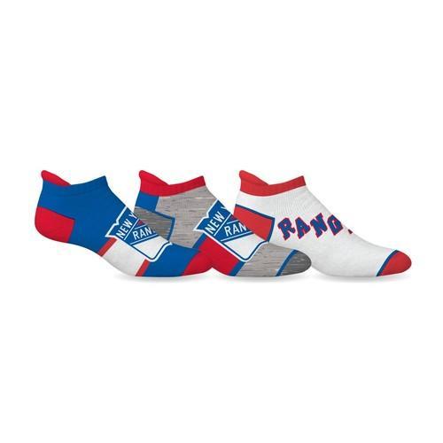 NHL New York Rangers Ankle Socks - 3 Pack