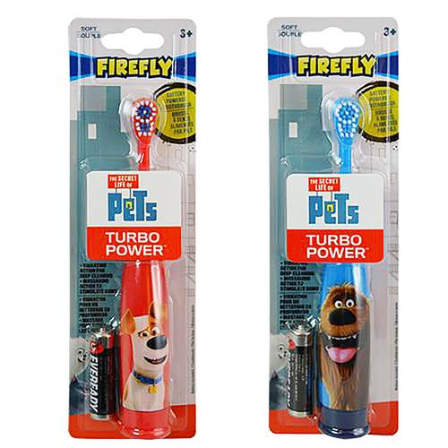 The Secret Life of Pets Firefly Turbo Power Toothbrush [Set of 2]