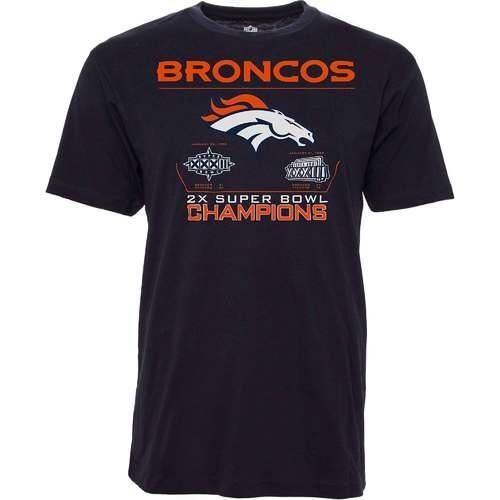 NFL Reign Tee - Denver Broncos - Super Bowl Champions - Medium