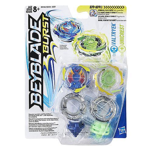 Beyblade Burst Dual Pack Valtryek and Unicrest