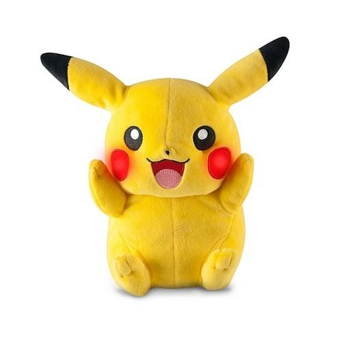 Pokemon My Friend Pikachu Talking Light-Up Plush