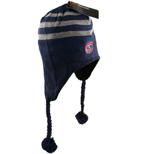 NHL Montreal Canadiens Habs Fleece-Lined Boys Hat [Blue]