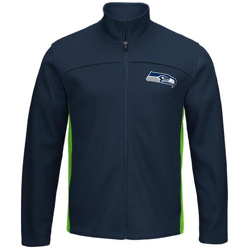 NFL Seattle Seahawks Transitional Zippered Jacket - Large