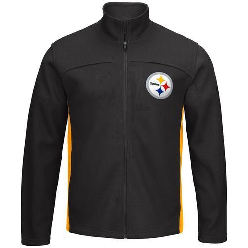 NFL Pittsburgh Steelers Transitional Full-Zip Jacket - Medium