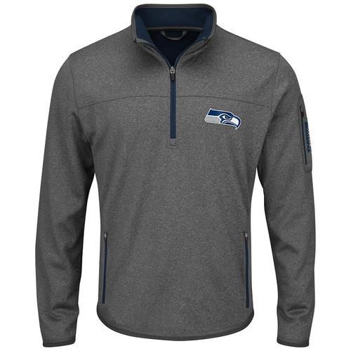 NFL Seatle Seahawks Half-Zip Pull Over - Medium