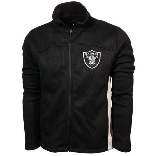NFL Oakland Raiders Full-Zip Transitional Jacket - Medium