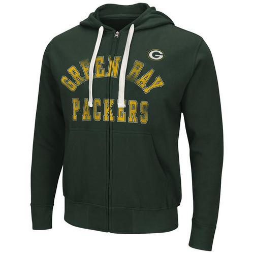 NFL Green Bay Packers Full-Zip Hoodie - Medium