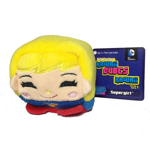 Kawaii Cubes DC Comics Supergirl Plush