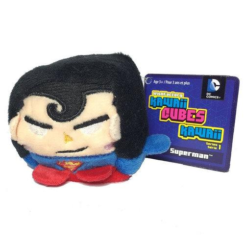 Kawaii Cubes DC Comics Superman Plush