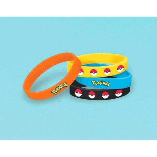 Pokemon Pikachu & Friends Stretchy Bracelets [6 per Pack]