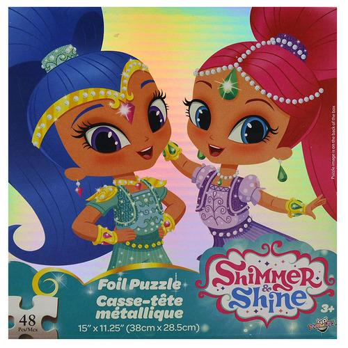 Shimmer and Shine 48 Piece Foil Puzzle