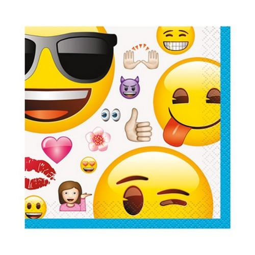 Emoji Beverage Napkins [16 per Pack]