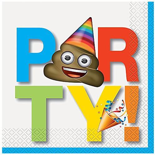 Emoji Celebration Luncheon Napkins [16 per Pack]