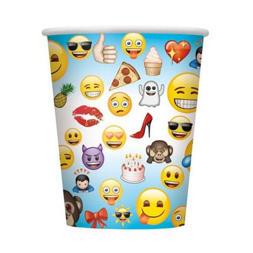 Emoji 9oz Party Cups [8 per Pack]
