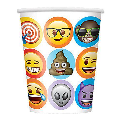 Emoji Celebration 9oz Party Cups [8 per Pack]