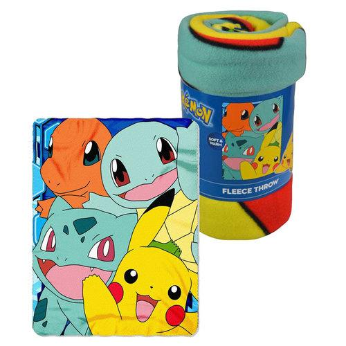 Pokemon Soft and Warm Fleece Throw
