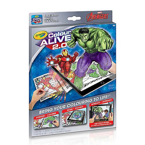 Crayola Colour Alive 2.0 The Avengers