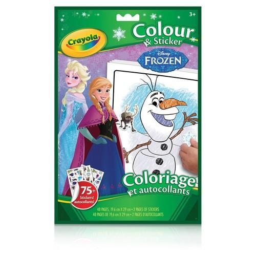 Crayola Frozen Colour & Sticker