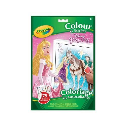 Crayola Disney Princess Colour & Sticker