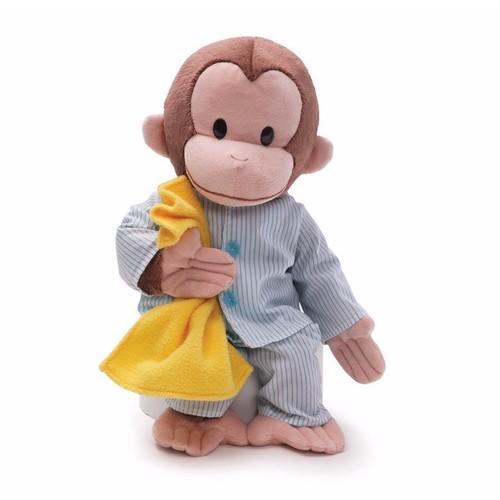 Gund Curious George Pajamas Plush