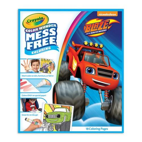 Crayola Color Wonder Book Blaze and the Monster Machines