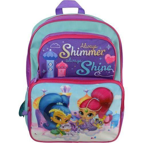 Shimmer and Shine Deluxe Cargo School Backpack for Kids - 16 Inches