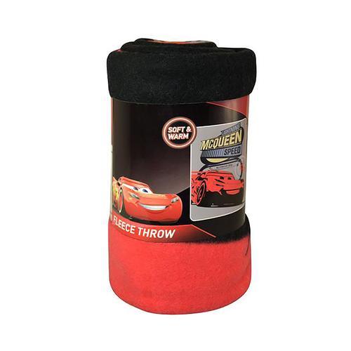 Disney Cars Lightning McQueen Fleece Throw - 45 x 60 Inches